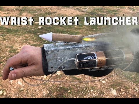 HOW TO MAKE WRIST ROCKET LAUNCHER