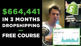 [Free Course] Dropshipping in 2019   $664,441 in 3 Months With ONE Product