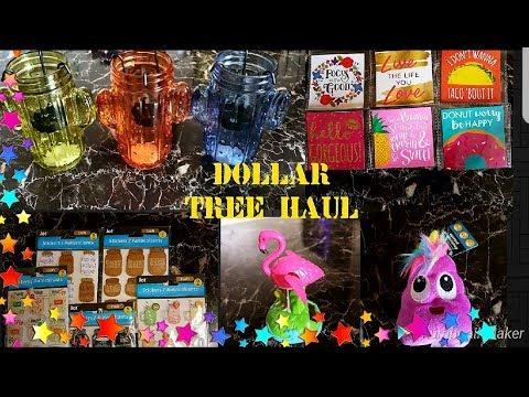 DOLLAR TREE HAUL AMAZING NEW FINDS! APRIL 03 2018