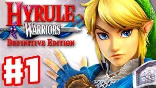 Hyrule Warriors: Definitive Edition - Gameplay Walkthrough Part 1 - Link in Hyrule Field!