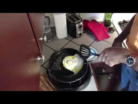 Sunny Side Up Eggs / Fried Eggs - NuWave Oven Recipe