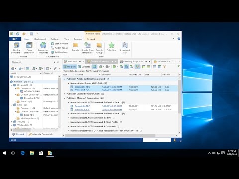 How to install & uninstall Windows software remotely
