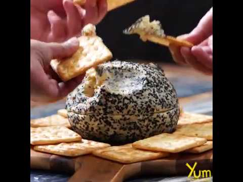 Death Star Cheese Ball |  Death Star Cheese Ball recipe
