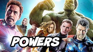 Download Captain Marvel vs Avengers Special Powers and Abilities Breakdown Video