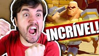 COMO ENTRAR NO VIDEO GAME! - GORN (Realidade Misturada)