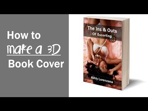 How to Make a 3D Book Cover Using GIMP