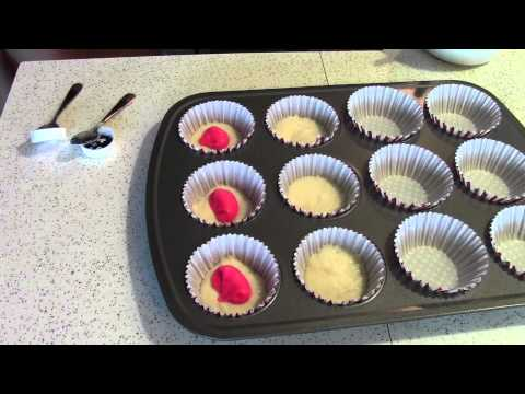 How to Make Surprise Baby Cupcakes
