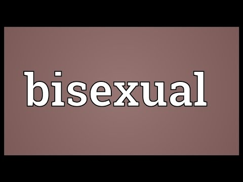 Bisexual Meaning