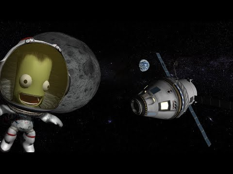 KSP Stock Kerbal Orion like spacecraft