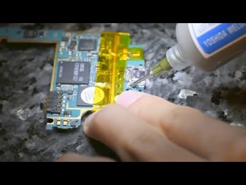 How to use low melt solder paste removal alloy