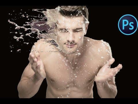 splash water effect in photoshop cs6
