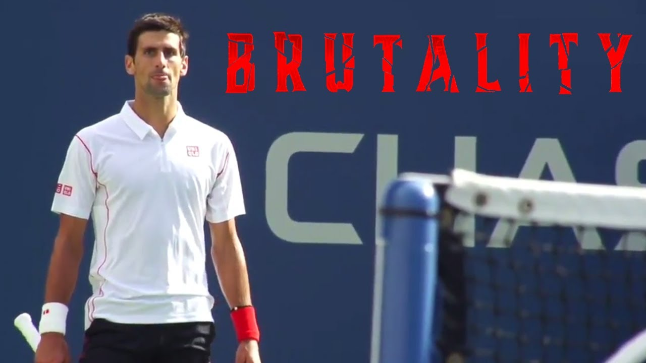 """Most """"BRUTAL"""" Game in Tennis History (Djokovic & Wawrinka Go To WAR 