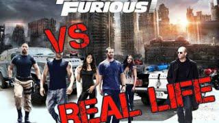 FAST AND FURIOUS 7 vs REAL LIFE [Simon Desue]
