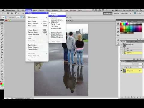 Photoshop CS5- Lesson 20: Changing the Color Profile