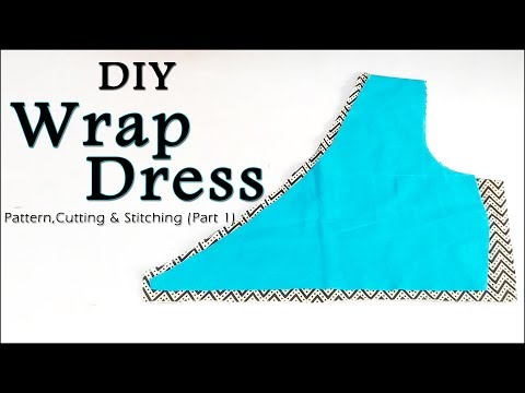 DIY Wrap Dress | How to make Wrap Dress (Easy Way Step by Step Method)