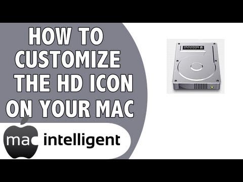 How To Customize Your Hard Drive Icon on a Mac