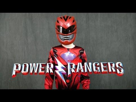 Power Rangers Red Ranger Mask and Shirt from Jakks Pacific