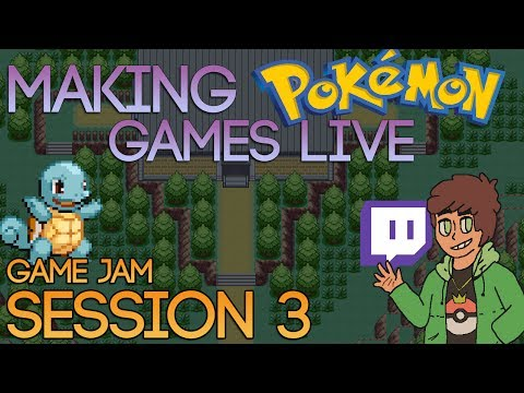 Making Pokemon Games Live (Game Jam Session 3)