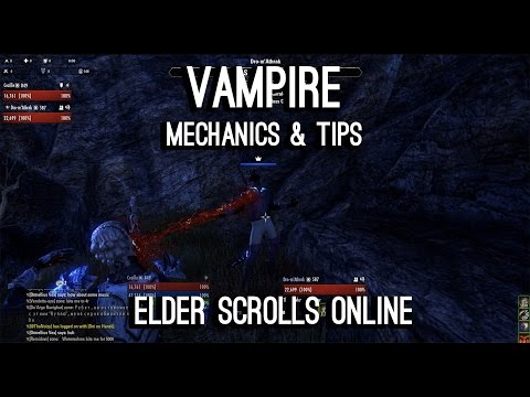 Vampire Guide & Tips for ESO