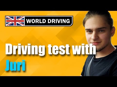 UK driving test (Juri's test) - driving test tips (driving lessons)