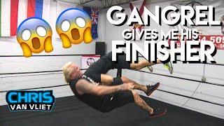 Gangrel gives me a NASTY Impaler DDT - Don