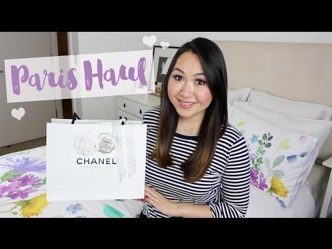 Paris Trip Haul & Chanel Unboxing!   Chase Amie