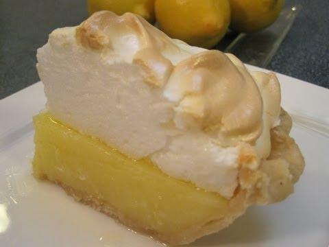 LEMON PIE FILLING with MERINGUE TOPPING - How to make Lemon Filling and Meringue Recipe