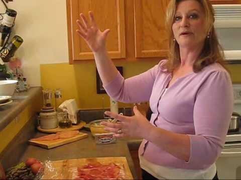 Rachel Caron - Philadelphia Cream Cheese Stuffed Chicken Log