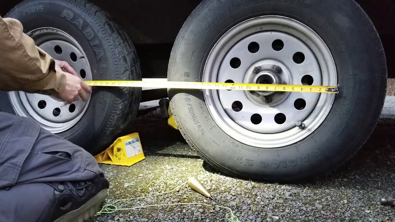 How To Align Your Trailer Axles with Lippert Correct Track
