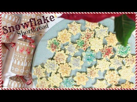 Snowflake Shortbread   YUMMY VEGAN