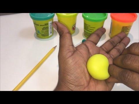 Clay Mango | Play Doh Mango | How to make mango with clay | Pre School Clay modeling |
