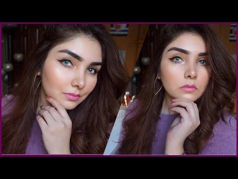 How to do winter glossy makeup tutorial (urdu / hindi) || Nishoo Khan