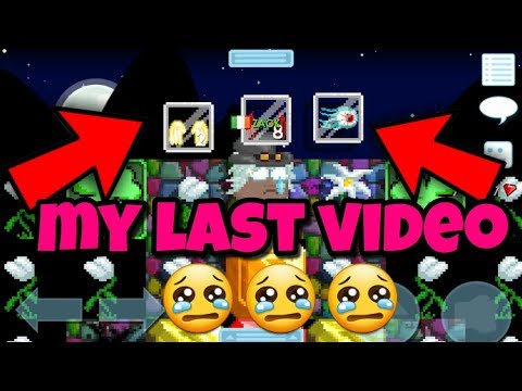 My Last Video :C ( MUST WATCH )  | Growtopia