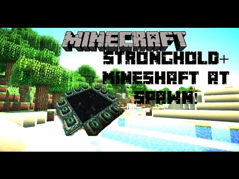 Minecraft Console Seed: Stronghold + Mineshaft At Spawn!