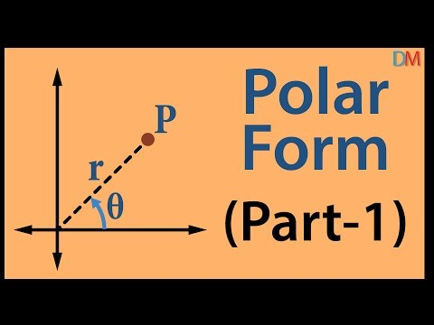 Complex Numbers - Polar Form Part 1