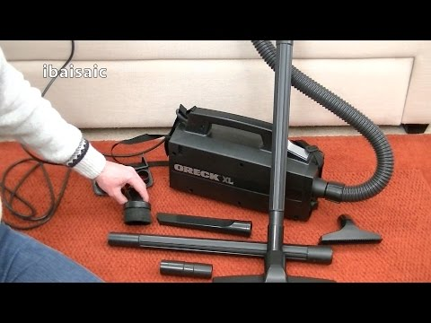 Oreck XL Compact Canister Vacuum Unboxing & First Look