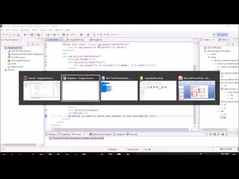 ng switch in Angularjs | AngularJS for beginner in eclipse