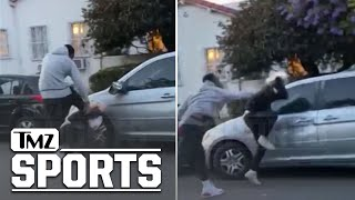 J.R. Smith Beats The Hell Out of Alleged Car Vandalizer During L.A. Protests | TMZ Sports