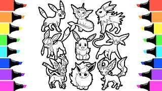 pokemon coloring pages pansage black - photo#19