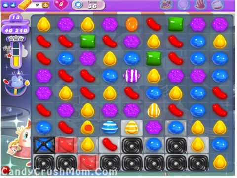 Candy Crush Dreamworld Level 86  Walkthrough Video & Cheats