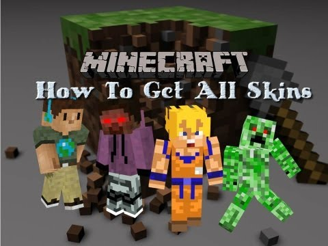 How to Get Minecraft Skins For Your Character!