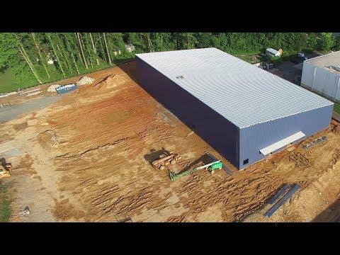 Newest Aerial Views of Construction at the Orange County Sportsplex - Hillsborough, NC