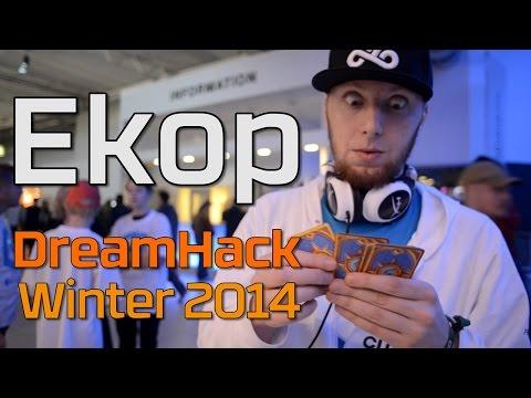 Hearthstone Magic in real life - Cloud 9's Ekop at DreamHack Winter 2014
