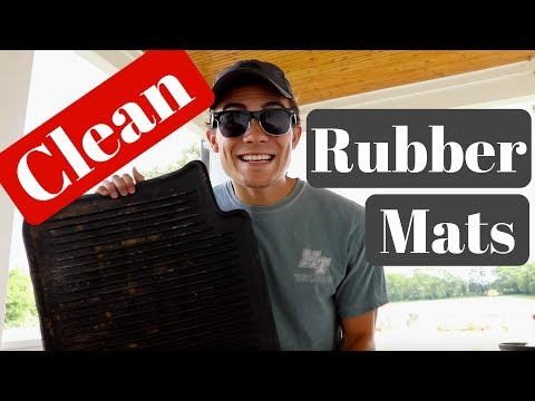 How To Clean Car Rubber Floor Mats: Clean & Protect!
