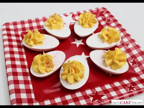 Deviled Eggs Made from SUGAR