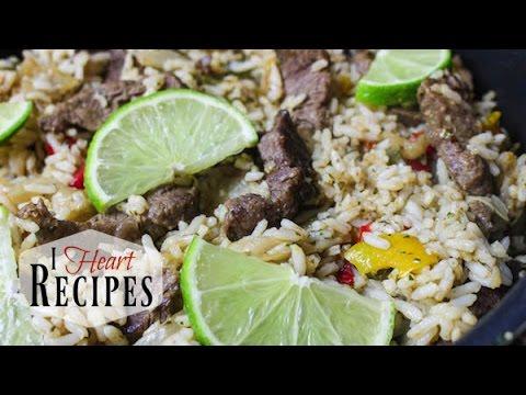 Steak Fajita Skillet - I Heart Recipes