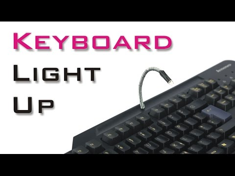 How to Make Led Light for Your Keyboard - Light Up Keyboard
