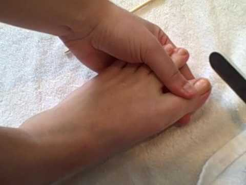 How To Shape Nails for an at Home Pedicure
