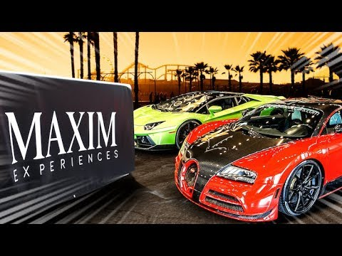 Hyper cars, Maxim Hot 100 Party, Tire Blowouts... Epic Adventures !!! | 4K