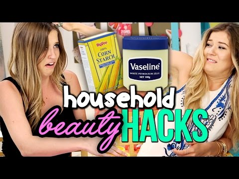 6 Tricks When You Run Out of Beauty Products - Household Beauty Hacks
